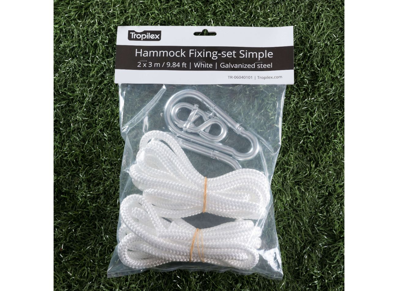 Ophangset Hangmat Simple White