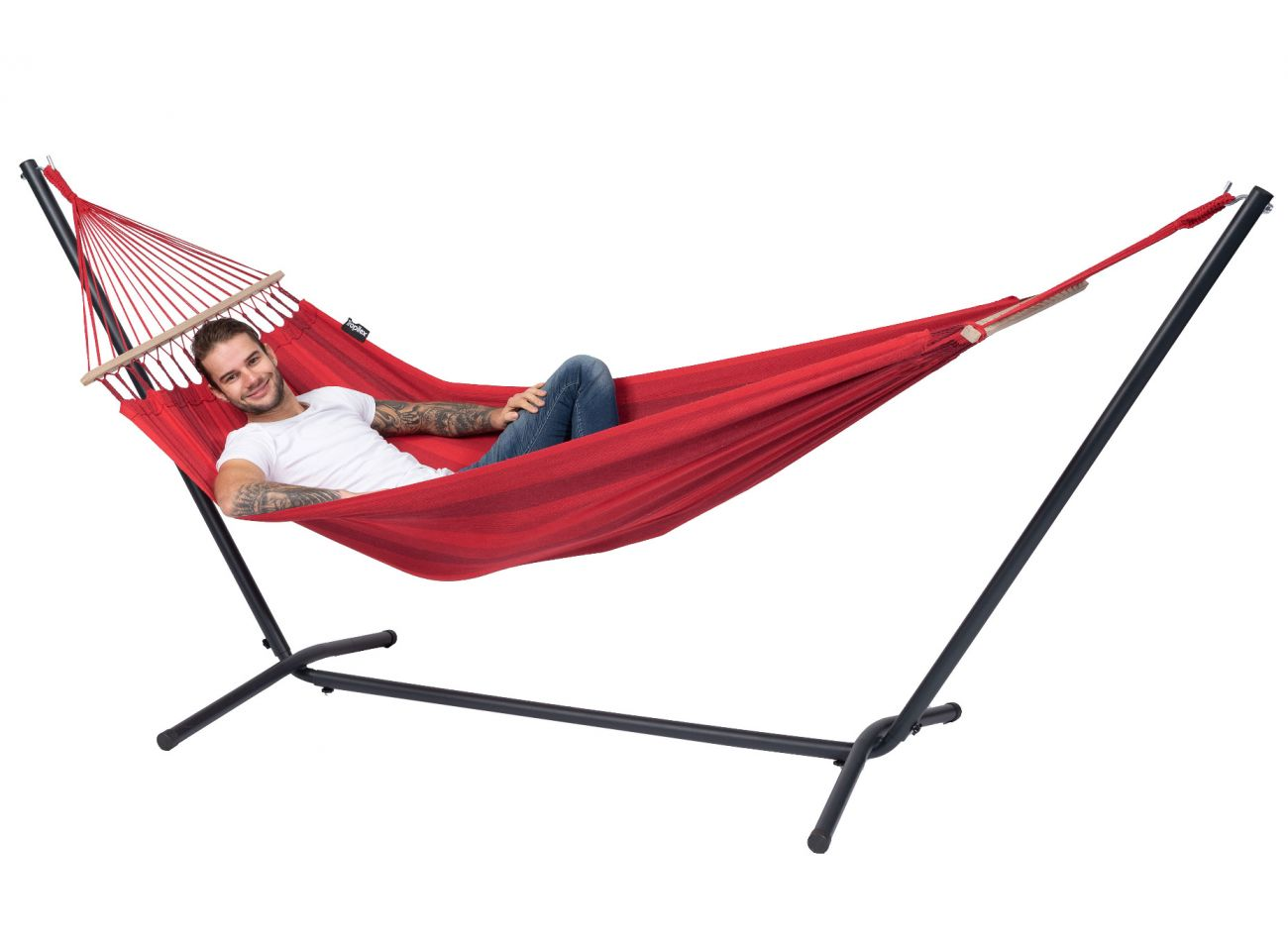 Hangmat 1 Persoons Relax Red