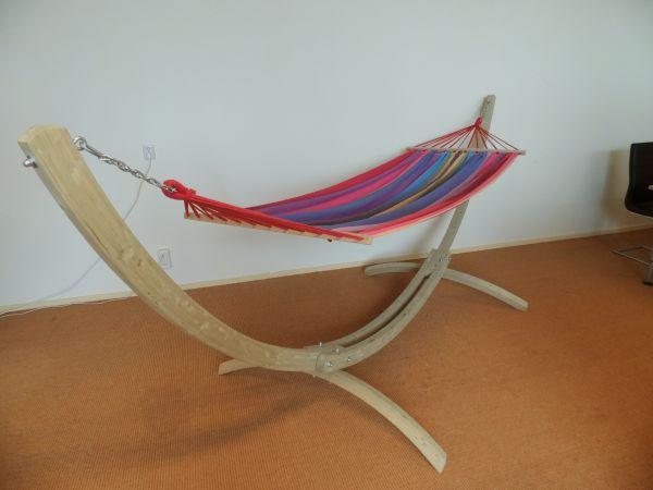 Hangmatstandaard 2 Persoons Wood Retour artikel