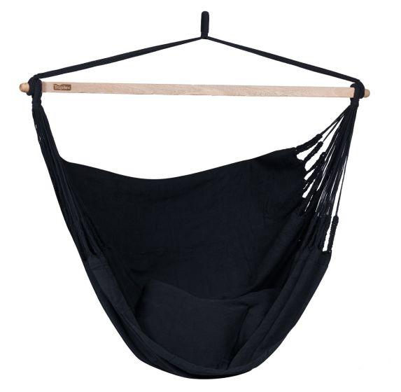 Hangstoel 1-2 Persoons Luxe Black