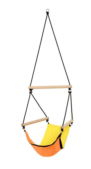 Kinderhangstoel Swinger Yellow
