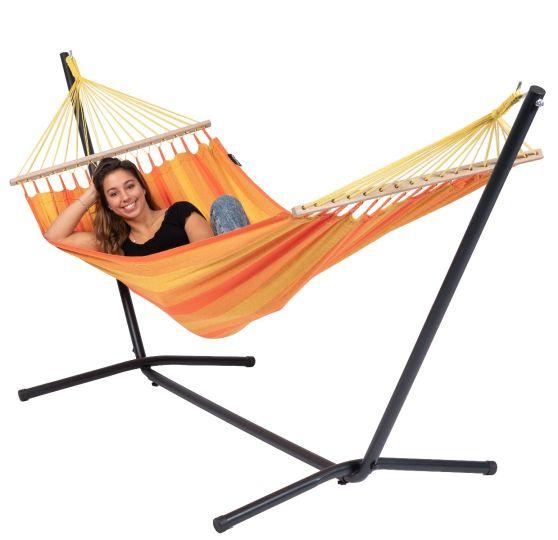Hangmatset 1 Persoons Easy & Relax Orange