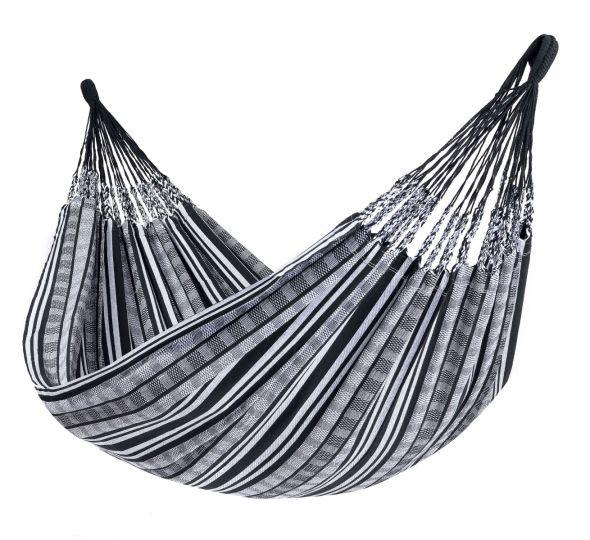 Hangmat 2 Persoons Comfort Black White