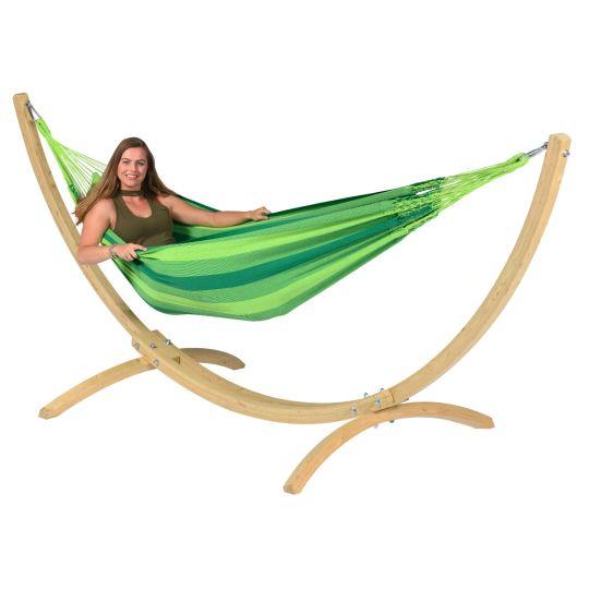 Hangmatset 1 Persoons Wood & Dream Green