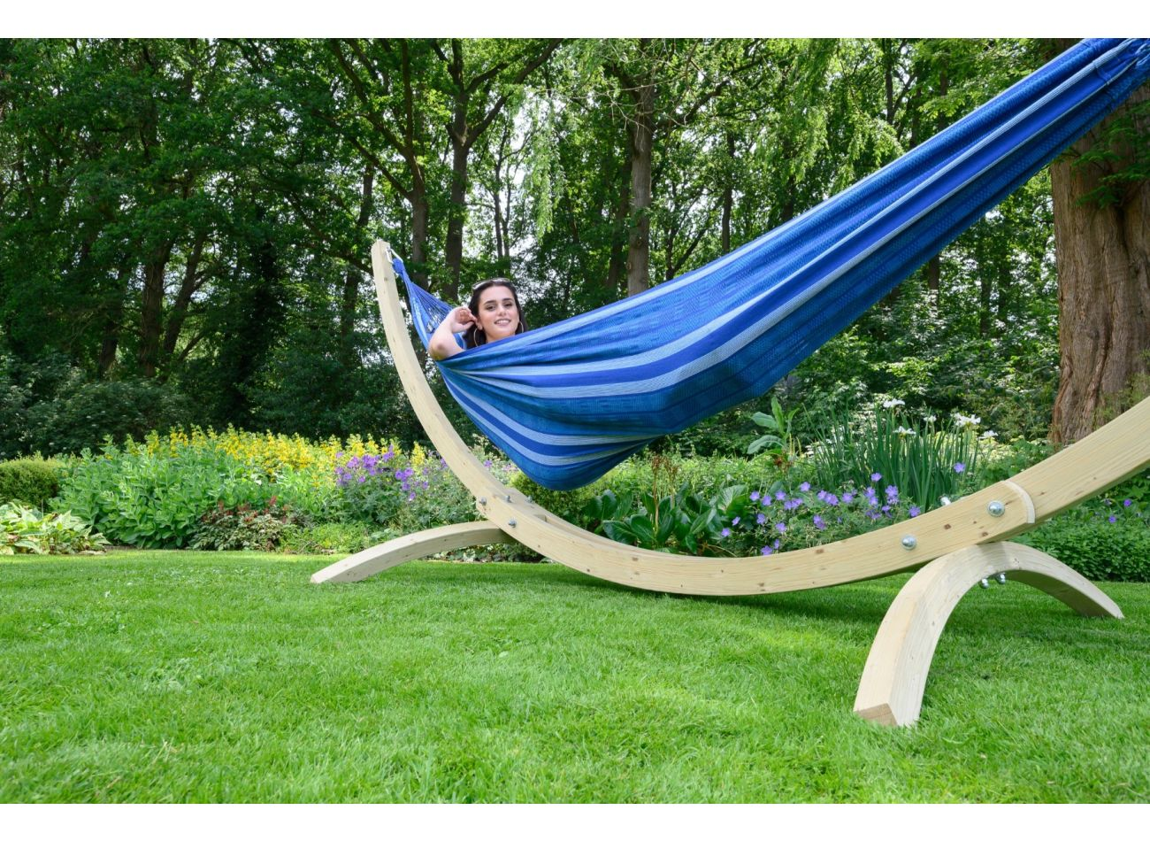 Hangmatset 2 Persoons Wood & Chill Calm