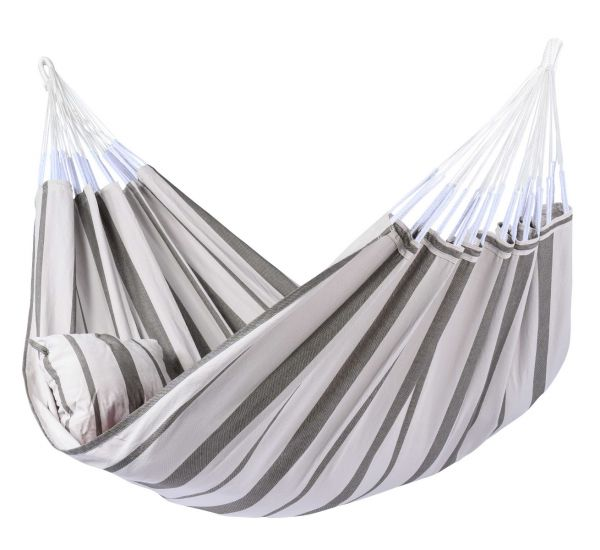 Hangmat Familie Stripes Silver