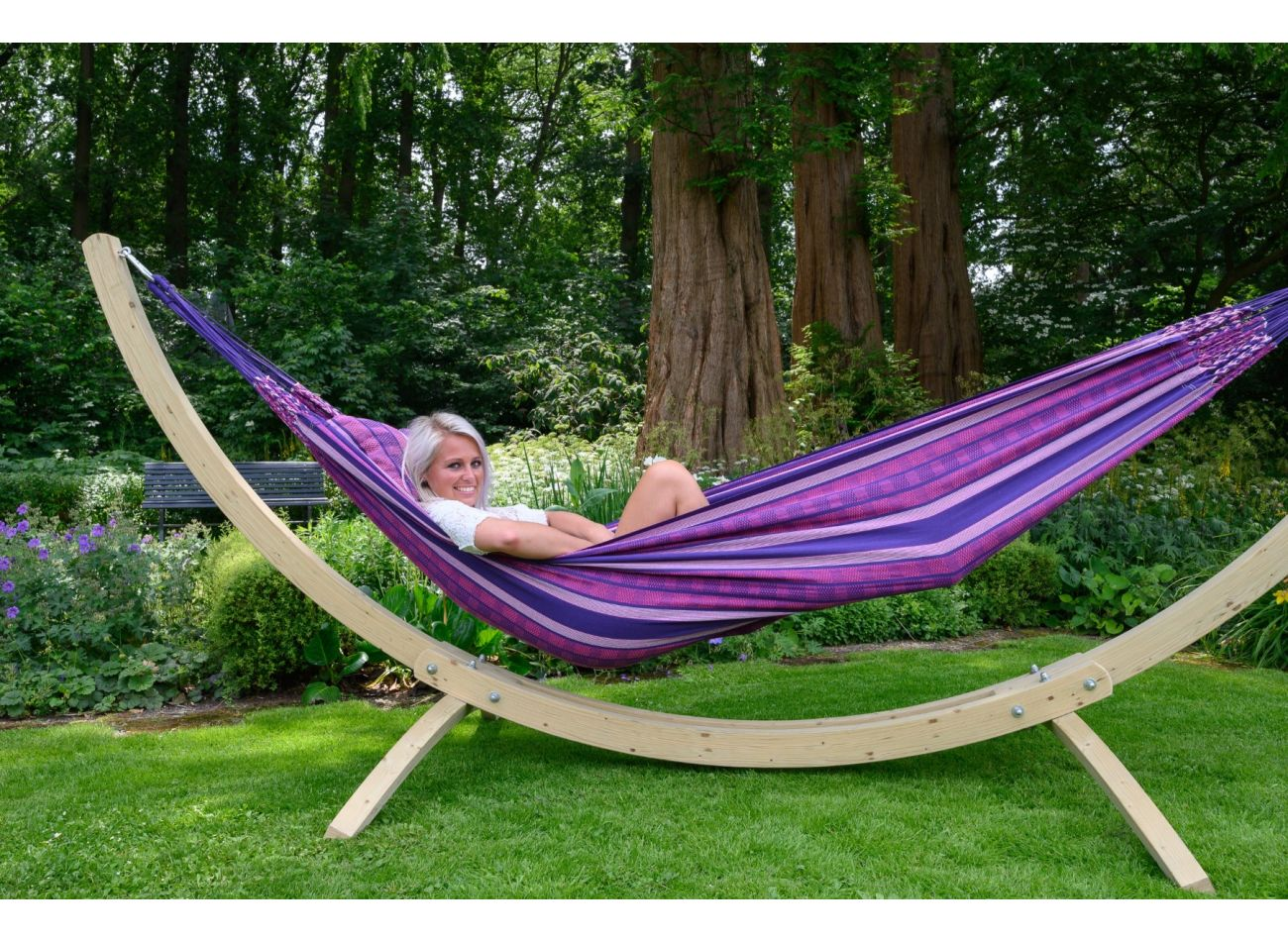 Hangmatset 2 Persoons Wood & Chill Love