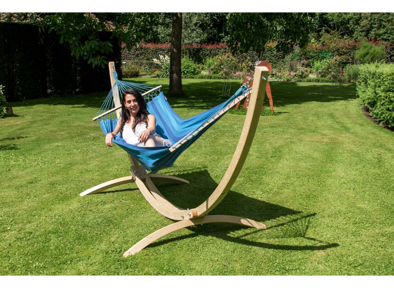 Hangmat 1 Persoons Relax Blue