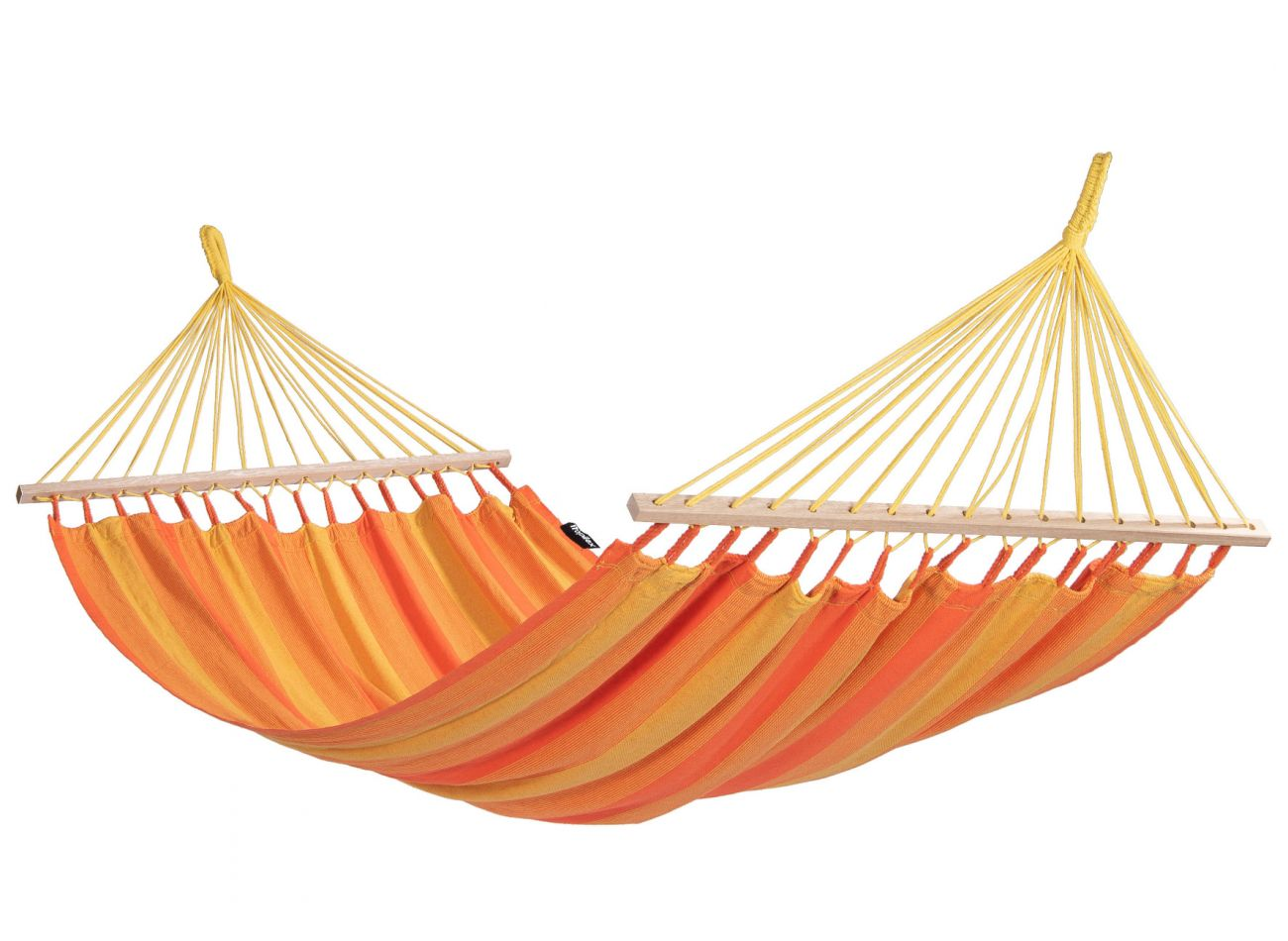 Hangmatset 1 Persoons Wood & Relax Orange