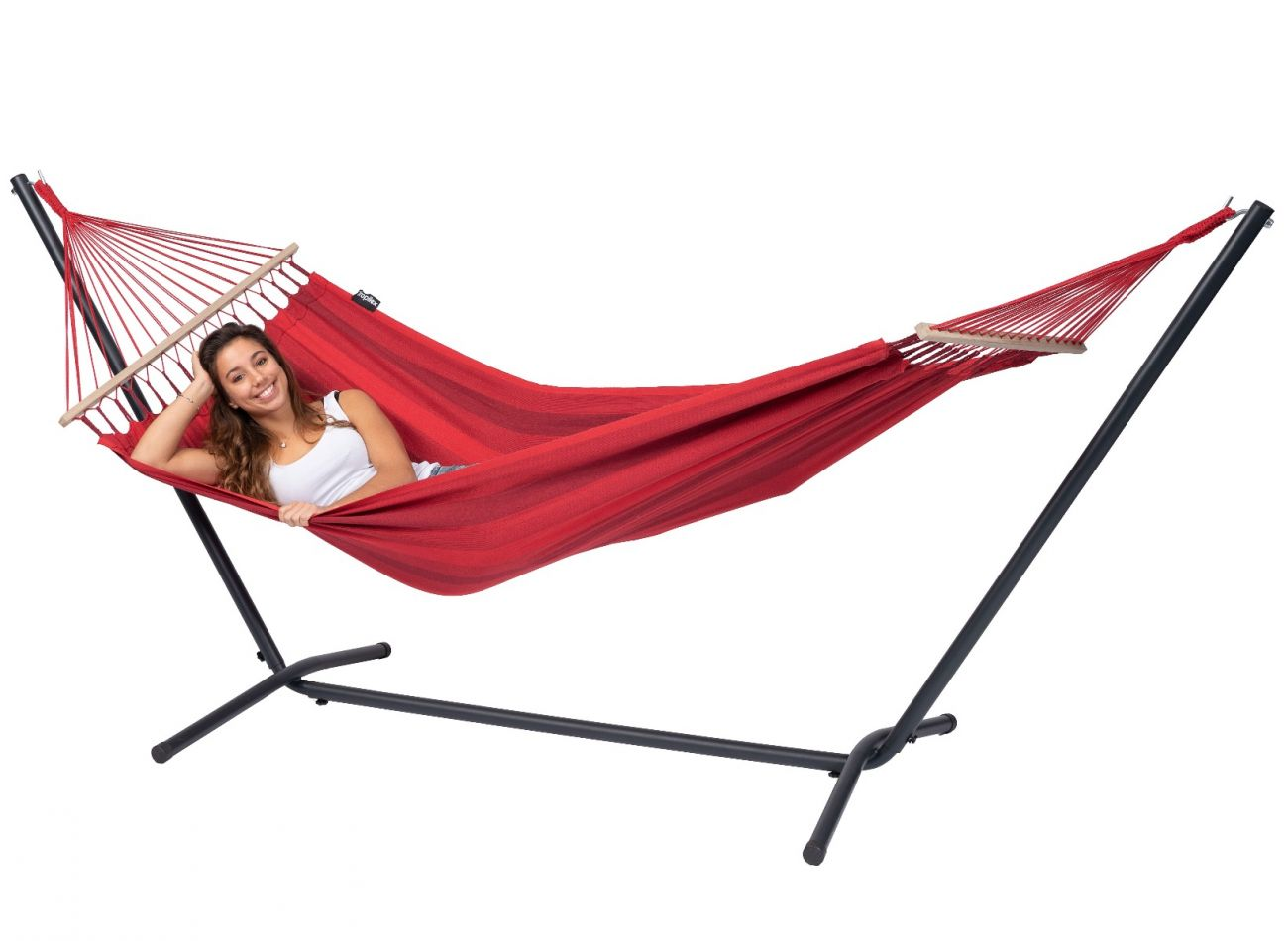 Hangmatset 1 Persoons Easy & Relax Red