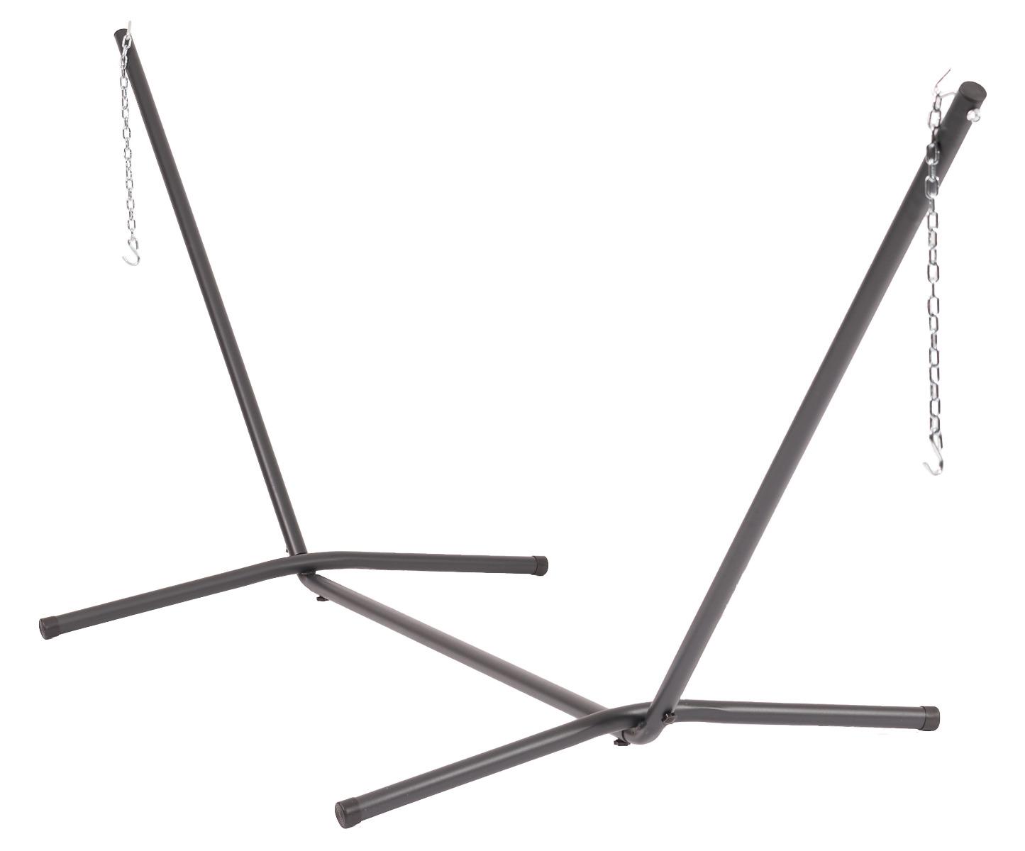 """Zwart Hangmatten > Hangmatstandaarden  kopen """" /></p> <p>Van onze drie hangmatstandaarden met de naam Easy, is deze familie standaard de grootste variant. Deze in ophang lengte verstelbare hangmatstandaard is te gebruiken voor alle familie hangmatten in ons assortiment. Handig! De standaard is eenvoudig te monteren zonder hulp van gereedschap. Om de invloeden van het weer te beperken, is de standaard voorzien van een poeder-coating van hoge kwaliteit. Deze stevige hangmatstandaard kan tot 180 kg dragen.</p> <h2> Tropilex </h2> <p>Zwart<br /> Ean 8719689415648<br /> SKU TR-0330302</p> <p>Gemaakt van  Metaal </p> <p>Levertijd : 1 werkdag</p> <p>1</p> <h3> <p>1</p> </h3> <p>Tropilex<br /> Gewicht van Hangmatstandaard Familie Easy: 18 KG</p> <p>Zwart</p> <p>EUR</p> <p>Metaal</p> <p>Standaard</p> <p>Actieprijs vandaag : 139.00 Euro</p> <p><a href="""