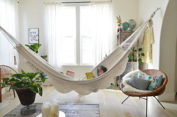 Hangmat binnen